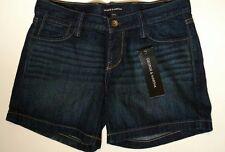 George & Martha dark blue denim jean shorts, size 42 (14-16 U.S. Size) new NWT