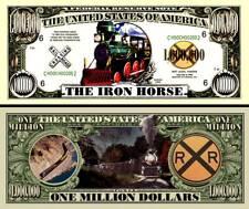 OUR IRON HORSE TRAIN DOLLAR BILL (2 Bills)