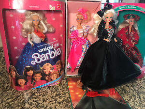 4 Barbie Doll Lot New in Box Mattel 1990s Era