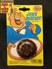 Practical Jokes~ Imitation Jaffa Cake biscuit~Fake Joke Jafa ~ Rubber