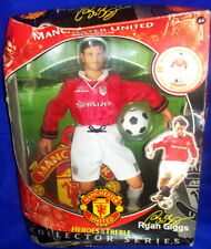 """Manchester United Heroes of The Treble - Ryan Giggs 12"""" Action Figure"""