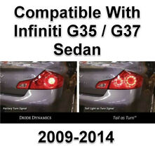 Diode Dynamics Tail Light As Turn Signal Module For Infiniti G37 Sedan 2009-2014