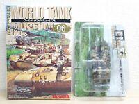 1/144 Takara Kaiyodo World Tank Museum 6 US ARMY M1A2 ABRAMS DESERT CAMO model