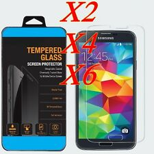 Premium Gorilla Tempered Glass Screen Protector Film for Samsung Galaxy S5 S6 S7