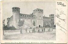 1905 Monticelli D'Ongina Piacenza Castello Rocca Marchese Casali CremonaFP BN VG