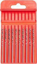 """10 PCS Diamond Coated HSS Twist Drill Bits Shank 3/32"""" Grit 120 ( DHD33210 )"""