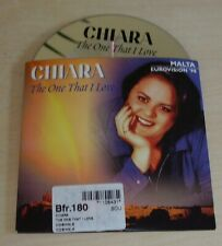 CHIARA The One That I Love CD Single 1998 2trk Cardsleeve Malta Eurovision