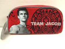 NEW NECA Team Jacob Accessory Bag Eclipse Makeup Pencil Case Twilight Saga Black