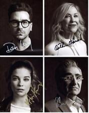 Schitt's Creek Cast Levy +3 autographed 11x14 Picture signed Photo Pic COA