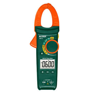 Extech MA610 Compact AC Clamp Meter 600A, w/NCV & Multimeter Functions
