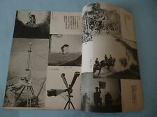 WW2 Japanese army latest chemical weapon photobook 1935  RARE!!