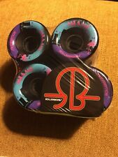 Rollerbones Miami 65mm 80A Outdoor 8 Pack Quad Skate Bones Wheels NEW Sold Out