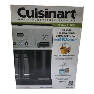 Cuisinart CHW-12 12-Cup Programmable Coffeemaker Plus Hot Water System Coffee