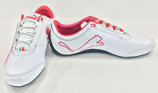 Puma Shoes Drift Cat IV 4 SF Ferrari White/Red Sneakers Size 8.5 EUR 41