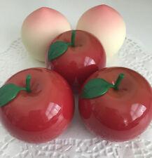 TONYMOLY 2 x Peach Hand Cream + 3 x Red Apple Hand Cream EXPIRED
