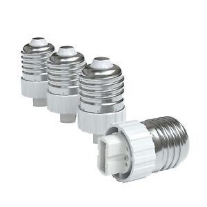 8x Lamp Socket Adapter E27 On G9 Socket Plug Bulbs Converter Lamp