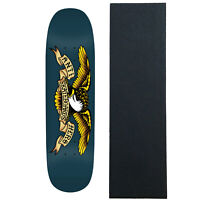 """Real Skateboard Deck Oval Pearl Patterns 8.75/"""" Assorted Colors with Grip"""