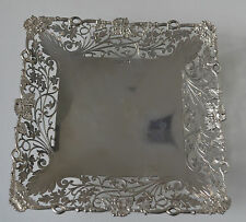1937 SHEFFIELD STERLING SILVER COMPORT PLATE GREAT GIFT