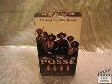 Posse (VHS, 1993) Mario Van peebles Stephen Baldwin Billy Zane