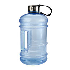 2.2l Big Large BPA Sport Gym Training Drink Water Bottle Cap Kettle Workout Blue