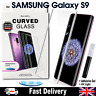 Samsung Galaxy S9 UV Glue Nano Optics 3D Curved Tempered Glass Screen Protector