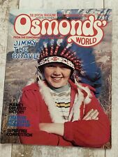 Osmonds' World Magazine - April 1976