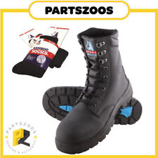 Steel Blue Work & Safety Lace Up Boots for Men