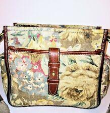 Fossil Vintage N.054 The Original Premium Bag EUC Tapestry