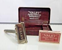 Vintage VALET Auto Strop SAFETY RAZOR in ORIGINAL BOX