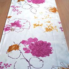 Tischdecke Tischläufer 50 cm x 150 cm Natalie pink 100% Baumwolle