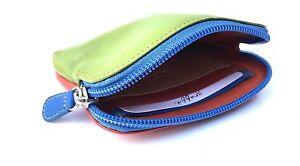 Golunski 327 & 143 Small Super Soft Leather Credit Card Holder Coin Zip Purse.