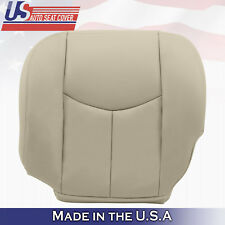 2003 2004 2005 2006 Chevy Tahoe Suburban Driver Bottom Leather Seat Cover Tan