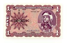 US MPC One Dollar P-M79 Series 681  Au-Unc.