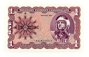 États Unis Mpc Un Dollar P-M79 Série 681 About XF