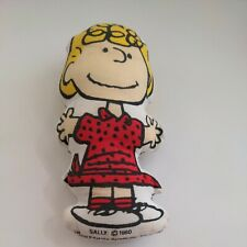 Vintage 1960 Peanuts Gang Plush Doll United Feature Syndicate Sally