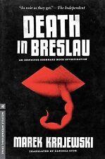 DEATH IN BRESLAU - Marek Krajewski (Hardcover, 2012, Free Postage)