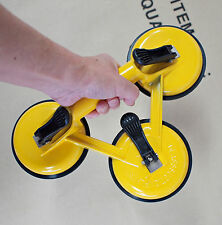 """SMT 309lb Capacity Triple Suction Cup Dent Puller Glass Lifter 4.8"""" Vacuum Pad"""