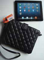 . Sac à bandoulière en cuir Superdry pour tablette noir   LV141-2