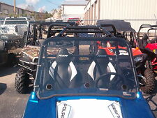 """Polaris RZR,RZR S,570,900,RZR 4 Clear Full Vented Windshield -A Full 1/4"""" THICK!"""
