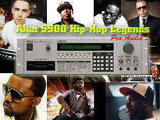 Akai s900 & S950-hip-hop legends-Hip Hop producteur kits - 9x disquettes