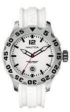 Nautica Men's N14608G BFD 100 Date White Watch