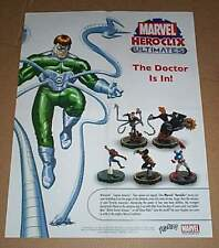 Marvel Heroclix poster:Spider-man/Wolverine/Ghost Rider/Captain America/Avengers