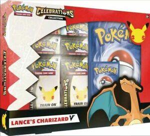 Pokemon CelebrationsLance's Charizard V Collection sealed ships 10-8