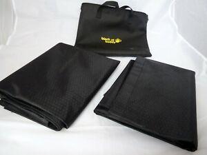 Blackout Buddy - Portable Blackout Blinds / Curtain Home & Travel 2x 120x100cm