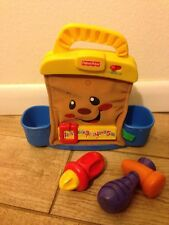 2008 Fisher-Price Laugh & Learn My Learning Tools Tool Bag W/ 2 Tools