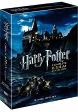 Harry Potter: Complete 8-Film Collection (DVD, 2011, 8-Disc Set) - Brand New