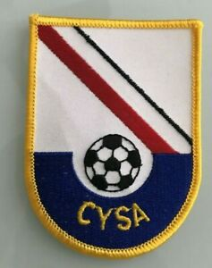 BRAND NEW 1993 CYSA embroidered SOCCER PATCH!
