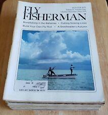 Fly Fisherman - 1979 - 1982 Fishing Magazine Lot