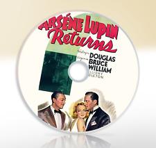 Arsene Lupin Returns (1938) DVD Classic Crime Drama Movie / Film Melvyn Douglas
