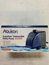 New listing Aqueon QuietFlow Aq2500 Submersible Utility Pump New #100533646